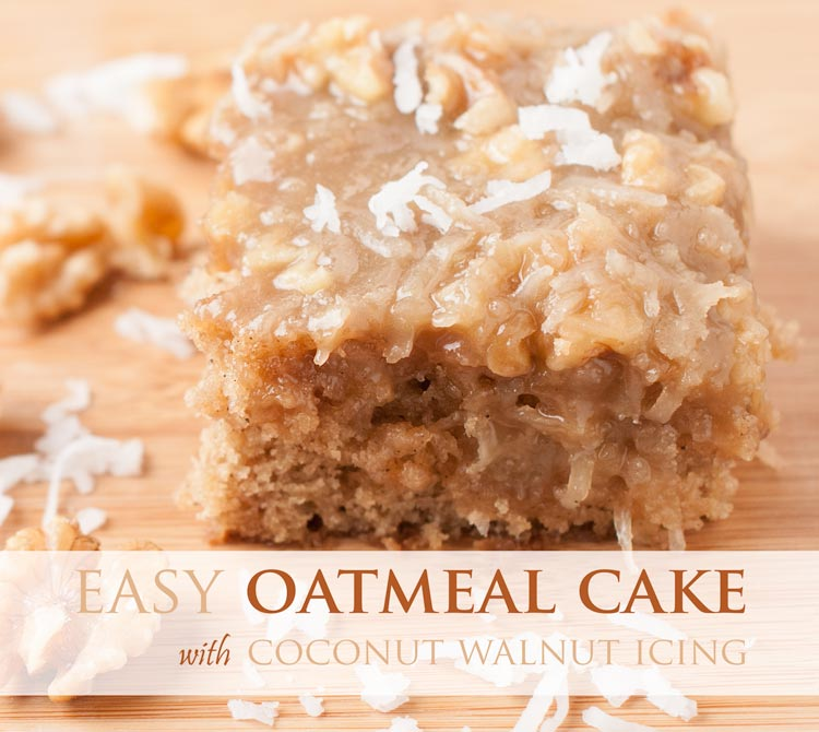 easy oatmeal cake
