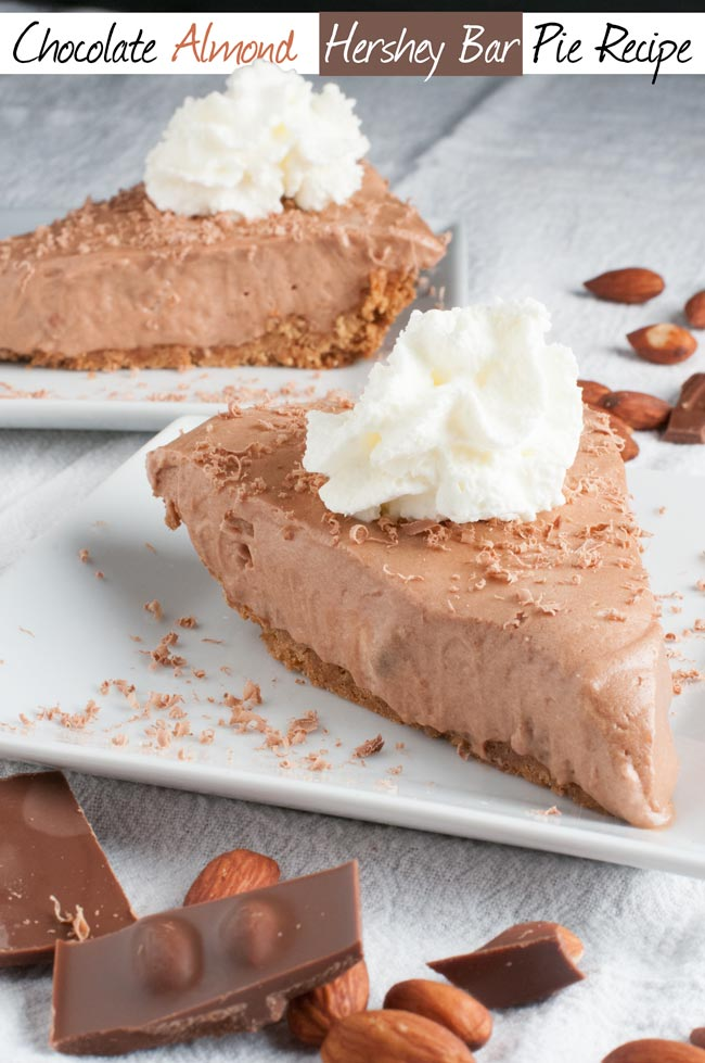 chocolate hershey bar pie