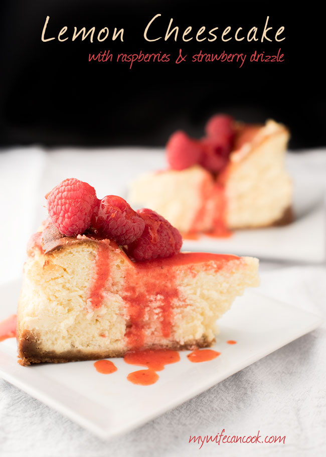lemon-cheesecake-recipe-with-strawberry-topping