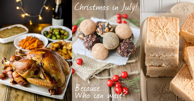 Christmas in July Recipe Roundup