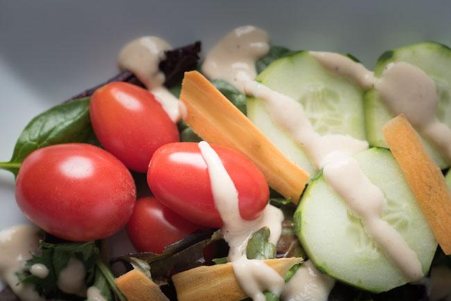 lemon tahini dressing - how to make tahini salad dressing