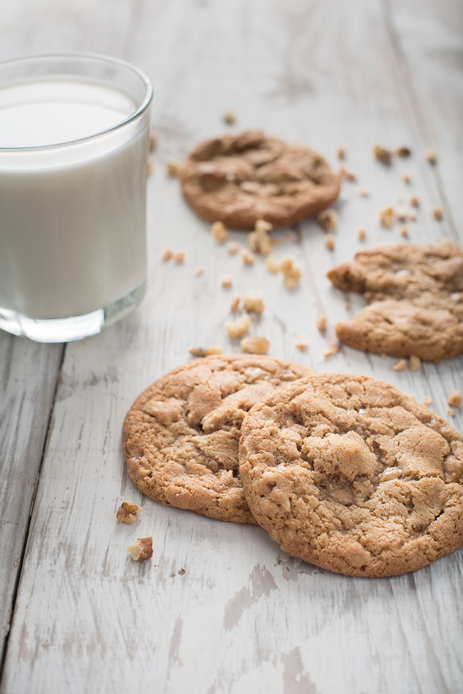 Heath Bar Toffee Nut Cookies