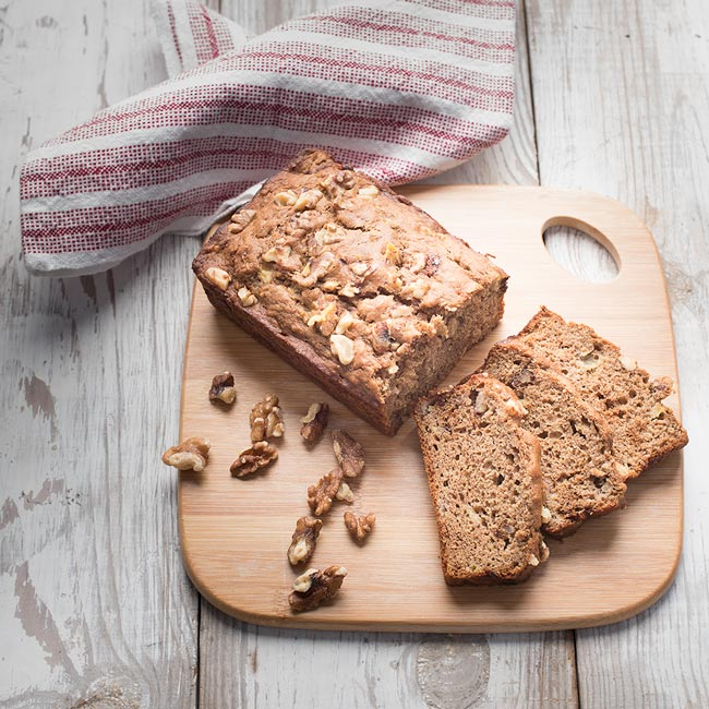 Banana Bread with Boiled Cider