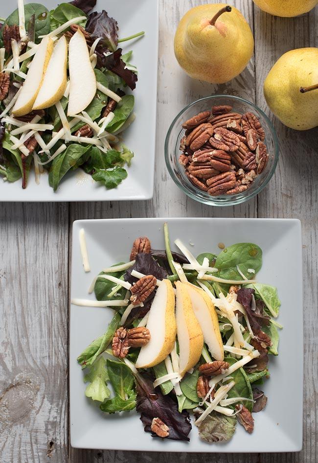 Pecan Pear Salad - Great Fall Salads