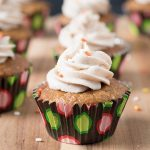 pumpkin buttercream cupcakes - pumpkin cupcakes with the best buttercream frosting