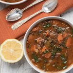 easy swiss chard lentil soup recipe