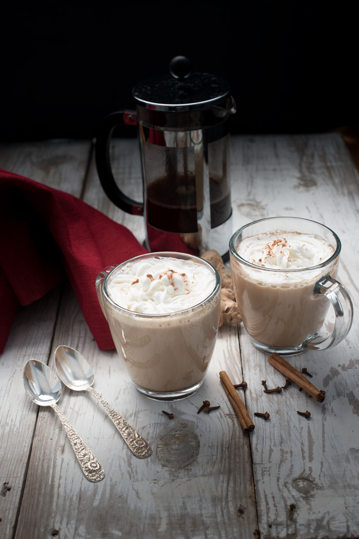 gingerbread latte recipe - this easy gingerbread latte recipe is a perfect holiday drink
