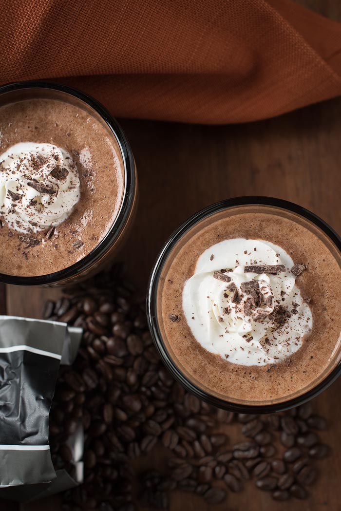 chocolate coffee smoothie recipe