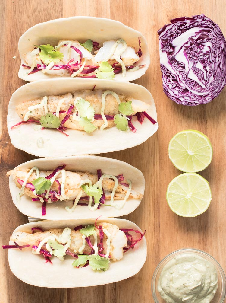 Cod fish tacos with fish taco sauce easy to make easy for The best fish tacos