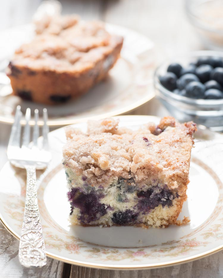 the best blueberry cake recipe