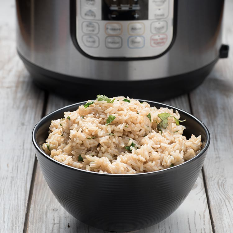 instant pot rice for chili lime salmon recipe