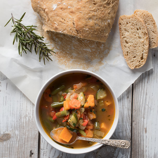 Easy Spicy Vegetable Soup