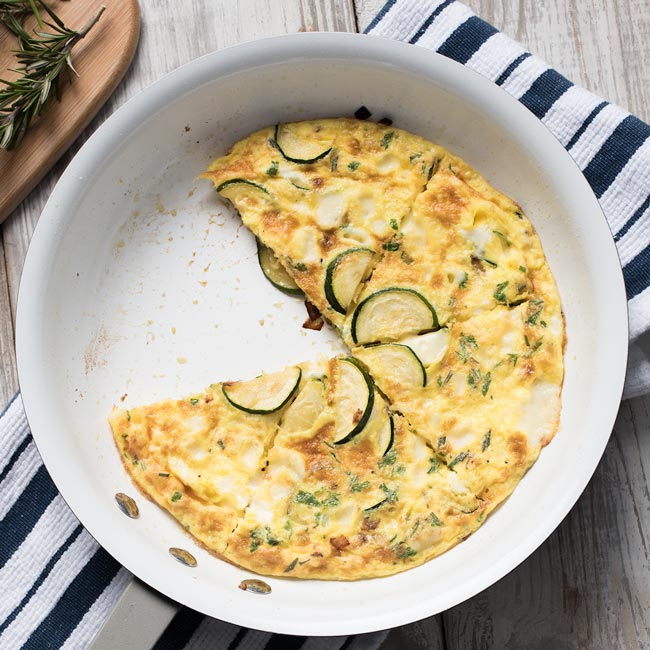 Easy Zucchini Frittata Recipe