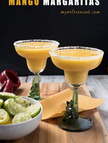 mango margarita - these frozen mango margaritas rock!