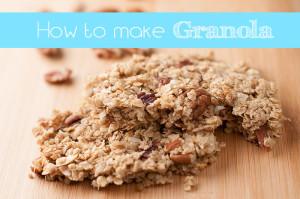 how to make granola