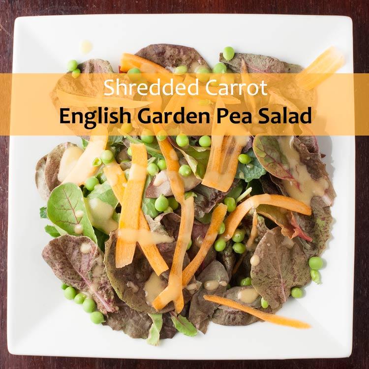 shredded-carrot-english-garden-pea-salad
