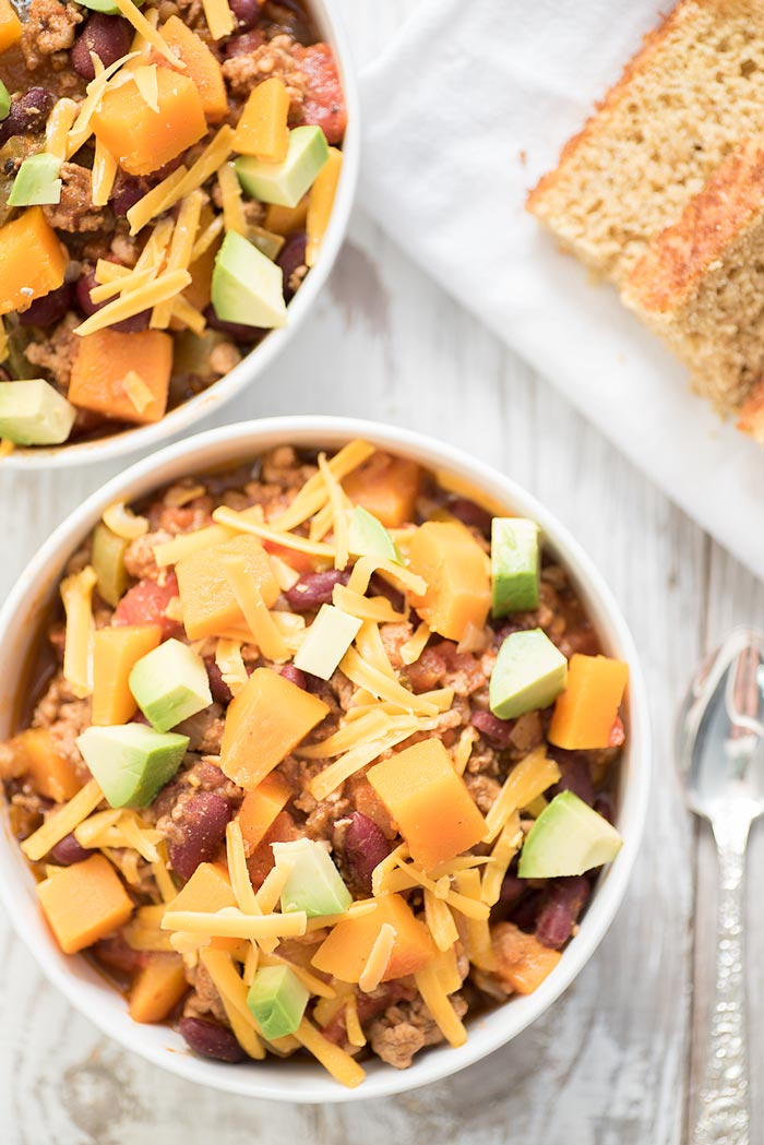 Butternut Squash Turkey Chili Recipe - Healthy and Easy to Make