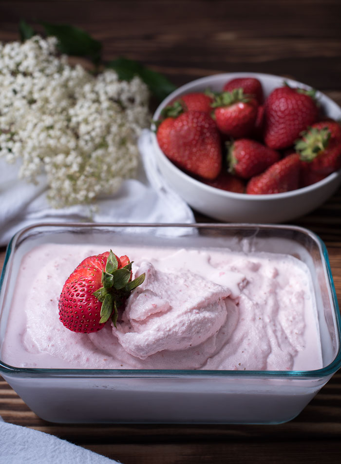 Homemade strawberry ice cream easy to follow recipe tips learn how to make strawberry ice cream ccuart Choice Image
