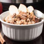 bowl of instant pot steel cut oats