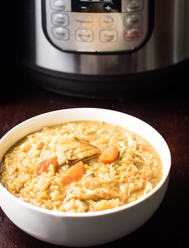 Instant Pot Soup - Mulligatawny Soup in the Instant Pot