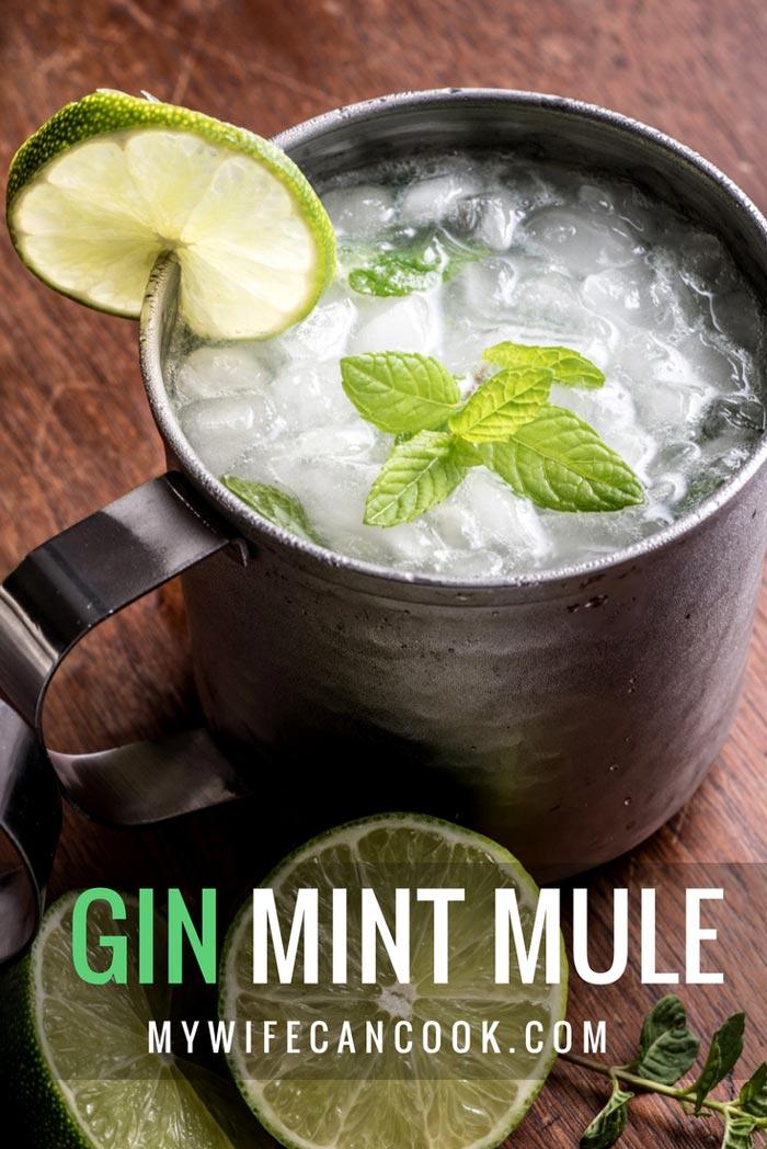 gin mint mule. Black Bedroom Furniture Sets. Home Design Ideas