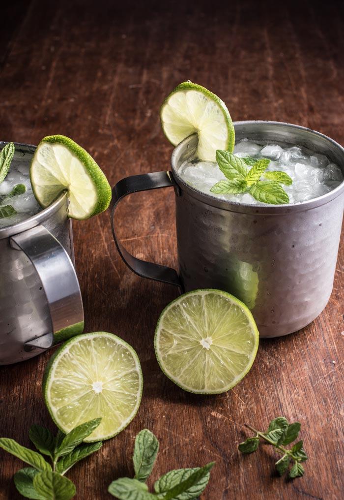 gin mint mule cocktail recipe