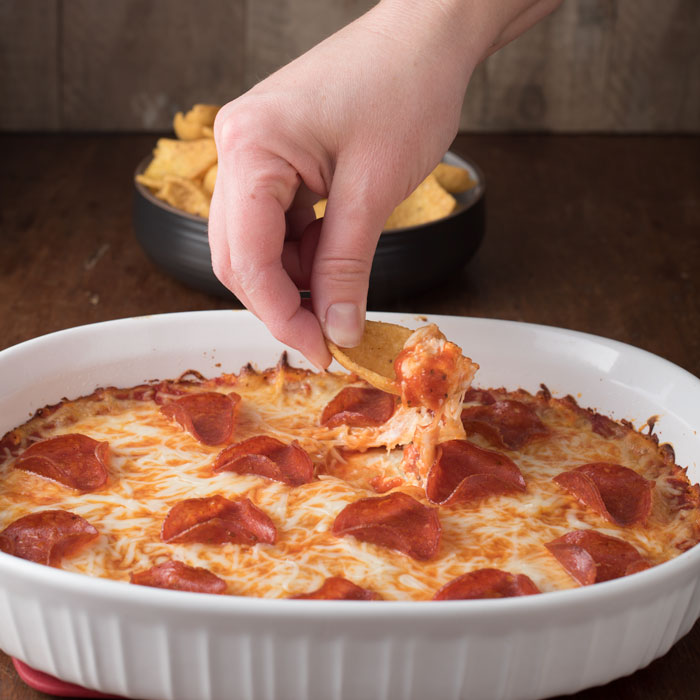 pizza dip with cream cheese